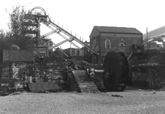 Ffaldau colliery demolition