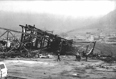Demolition of Wyndham Colliery