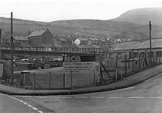 Garw Colliery in 1986 before demolition.
