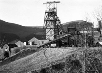Western Colliery in Nantymoel This is the upcast shaft which was about 500 yards deep.