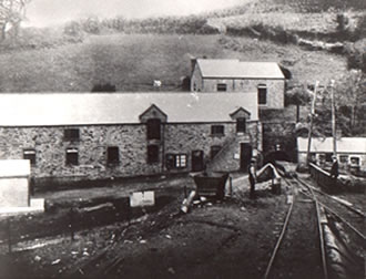 Tonphillip Colliery at the turn of the 20th Century.