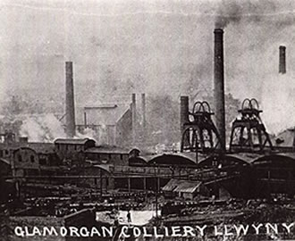 Glamorgan Colliery, Llwynypia A disaster occurred at this colliery in 1932 which killed eleven men.