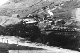 Darren Colliery, Blaengarw. It was closed in 1921.