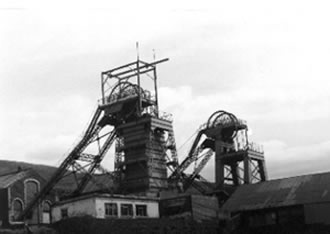 Coegnant Colliery 1981. It had just closed.