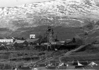 Western Colliery, Nantymoel viewed from Wyndham Colliery 1982