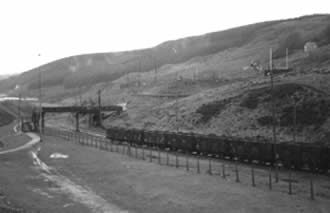 The last coal train from the Garw Colliery in 1986.