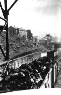 Ffaldau Colliery in 1955.