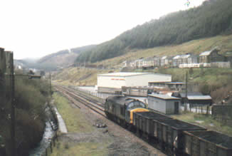 The last coal train from the Garw Colliery in 1985.