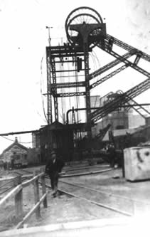 Ffaldau Colliery 1945. This is the pit I worked in (read my story here)