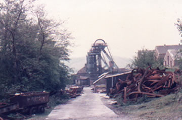 St. John's Colliery 1985 The manager asked me not to photograph the junk in the yard as it was too messy. I did anyway. I got a lot of stuff from here for the South Wales Miners' Museum. I got so much I could have opened my own museum!