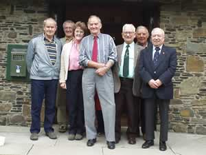 The committee of the South Wales Miners' Museum