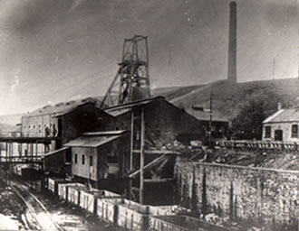 Bryn Colliery, Port Talbot It was closed in 1964. The canteen is still standing. There is also a pipe which is still drawing out the methane gas after all these years.